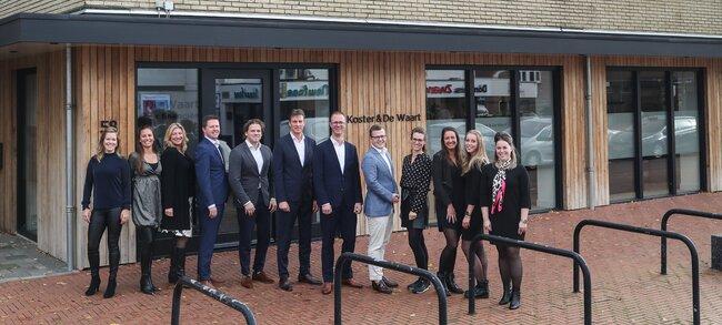 Het team van Koster & De Waart